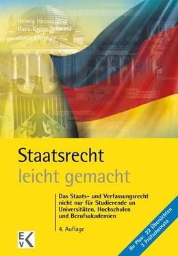 Abbildung von Melchior | Staatsrecht - leicht gemacht | 4., neu bearbeitete Auflage. 2016 | 2016 | Das Staats- und Verfassungsrec...