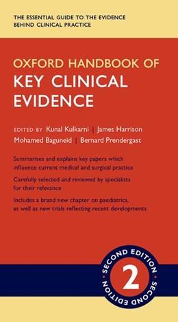 Abbildung von Kulkarni / Harrison | Oxford Handbook of Key Clinical Evidence | 2. Auflage | 2016 | beck-shop.de