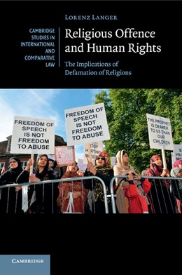 Abbildung von Langer | Religious Offence and Human Rights | 2016 | The Implications of Defamation... | 106