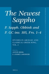 Abbildung von The Newest Sappho: P. Sapph. Obbink and P. GC inv. 105, Frs. 1-4 | 2016