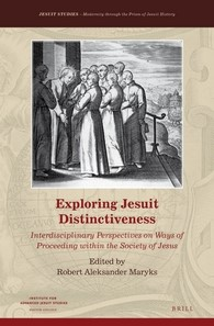 Abbildung von Exploring Jesuit Distinctiveness   xii, 326 pp.   2016
