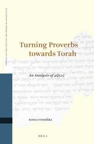 Abbildung von Uusimäki | Turning Proverbs towards Torah: an Analysis of 4Q525 | 2016