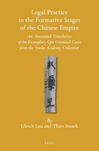 Abbildung von Lau / Staack | Legal Practice in the Formative Stages of the Chinese Empire | 2016