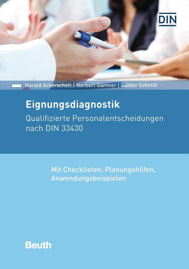 Eignungsdiagnostik | Ackerschott / Gantner / Schmitt, 2016 (Cover)