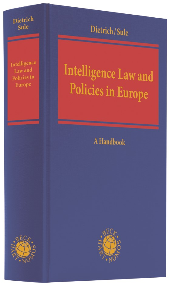 Intelligence Law and Policies in Europe | Dietrich / Sule, 2019 | Buch (Cover)