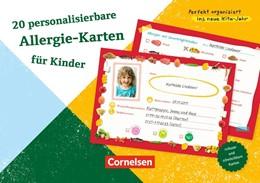 Abbildung von 20 personalisierbare Allergie-Karten für Kinder | 2016 | Zum Ankreuzen, Anpassen und Se...