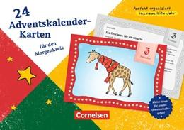 Abbildung von 24 Adventskalender-Karten für den Morgenkreis | 2016 | Kleine Ideen für großes Gemein...