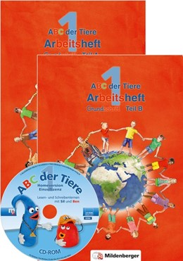 Abbildung von Kuhn   ABC der Tiere 1 - Arbeitsheft Grundschrift, Teil A und B. Neubearbeitung   1. Auflage   2016   beck-shop.de