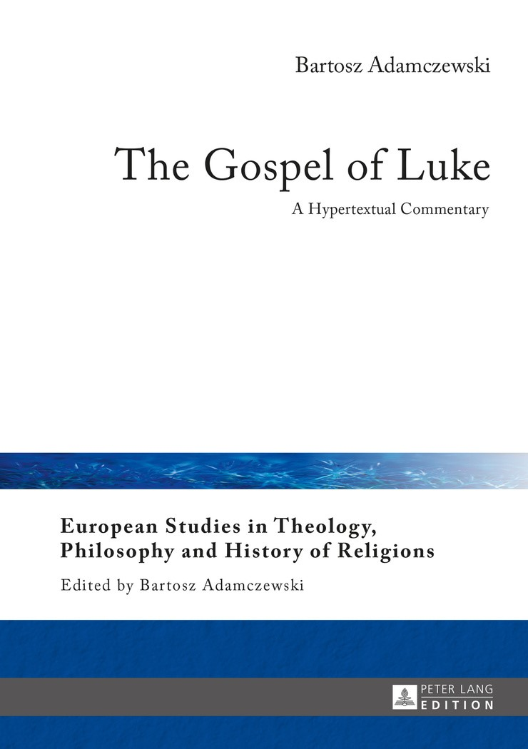 Abbildung von Adamczewski | The Gospel of Luke | 2016