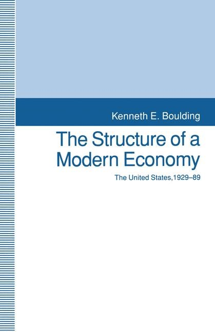 The Structure of a Modern Economy | Boulding | 1st ed. 1993, 1993 | Buch (Cover)