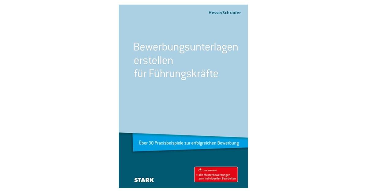 Hesseschrader Bewerbungsunterlagen Erstellen Für Führungskräfte