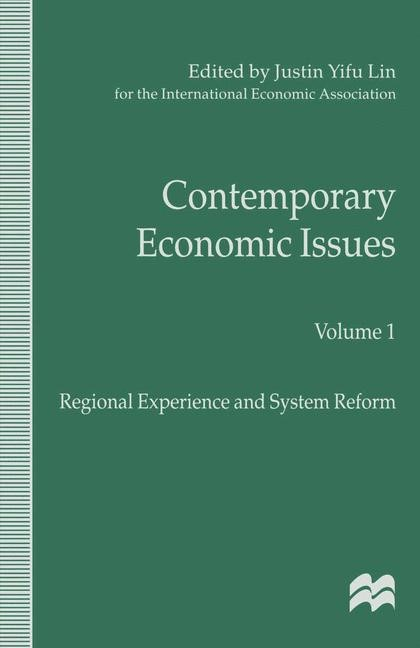 Contemporary Economic Issues | Lin | 1st ed. 1998, 1998 | Buch (Cover)