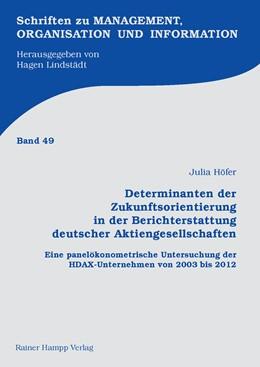 Abbildung von Höfer   Determinanten der Zukunftsorientierung in der Berichterstattung deutscher Aktiengesellschaften   2016   Eine panelökonometrische Unter...   48
