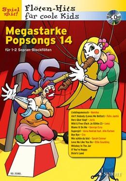 Abbildung von Megastarke Popsongs | 2016 | Band 14. 1-2 Sopran-Blockflöte...