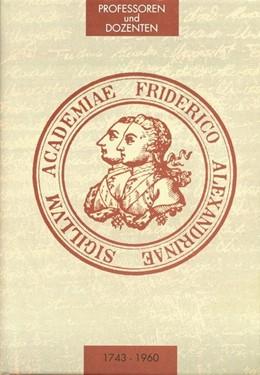 Abbildung von Wittern | Die Professoren und Dozenten der Friedrich-Alexander-Universität Erlangen 1743 - 1960. Teil 2: Medizinische Fakultät. | 2016