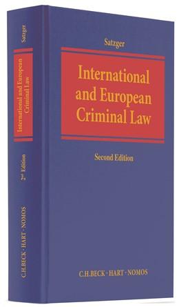Abbildung von Satzger | International and European Criminal Law | 2. Auflage | 2018 | beck-shop.de