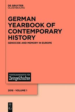 Abbildung von Schlemmer / Steinweis | Holocaust and Memory in Europe | 2016 | Holocaust and Memory in Europe