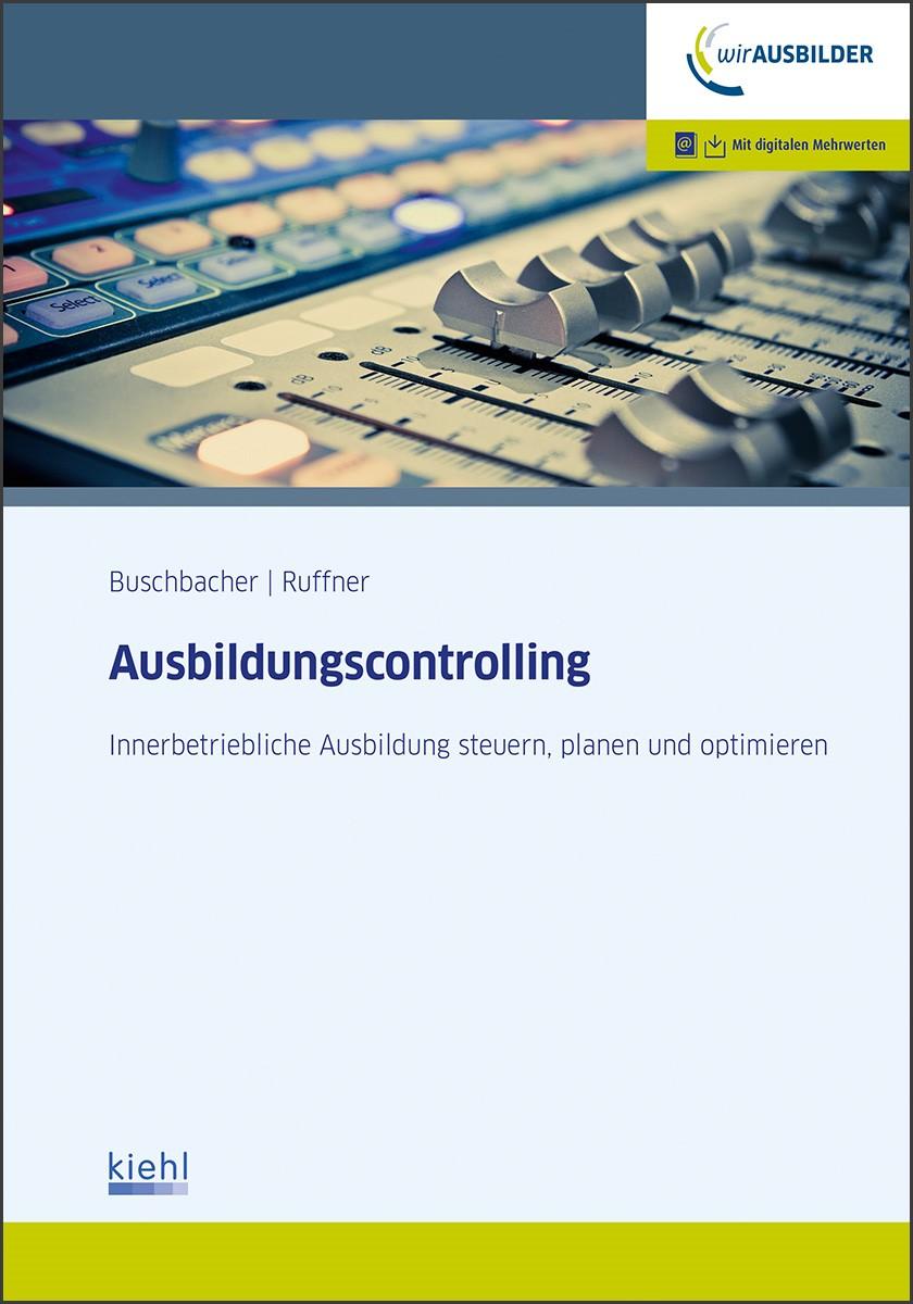 Ausbildungscontrolling | Buschbacher / Ruffner, 2017 | Buch (Cover)
