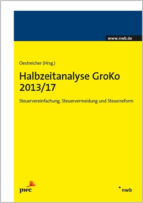 Halbzeitanalyse GroKo 2013/17 | Oestreicher, 2016 | Buch (Cover)