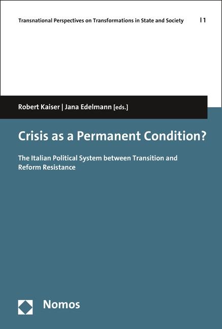Crisis as a Permanent Condition? | Kaiser / Edelmann, 2016 | Buch (Cover)
