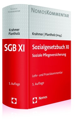 Sozialgesetzbuch XI • Soziale Pflegeversicherung | Krahmer / Plantholz (Hrsg.) | 5. Auflage, 2017 | Buch (Cover)