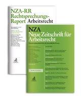 NZA • Neue Zeitschrift für Arbeitsrecht + NZA-RR • Rechtsprechungs-Report Arbeitsrecht | 35. bzw. 23. Jahrgang (Cover)