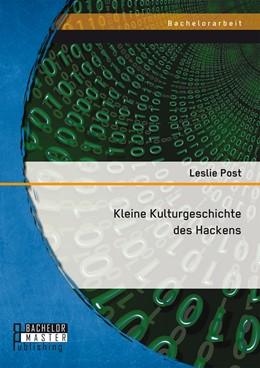 Abbildung von Post | Kleine Kulturgeschichte des Hackens | 1. Auflage | 2016 | beck-shop.de