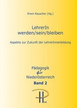 Abbildung von Rauscher   LehrerIn werden/sein/bleiben   1. Auflage   2016   Band 2   beck-shop.de