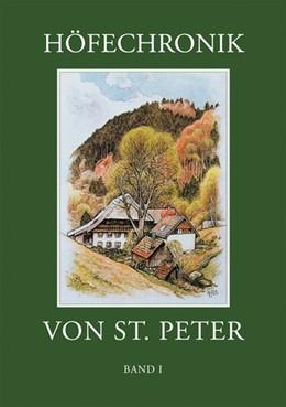 Abbildung von Weber | Höfechronik von St. Peter Band 1 | 1. Auflage | 2016 | beck-shop.de