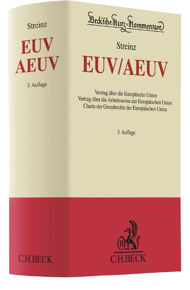 Abbildung von Streinz | EUV/AEUV | 3. Auflage | 2018