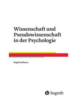 Abbildung von Macho | Wissenschaft und Pseudowissenschaft in der Psychologie | 2016