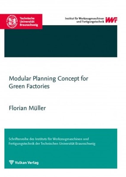 Modular Planning Concept for Green Factories | Müller, 2015 | Buch (Cover)