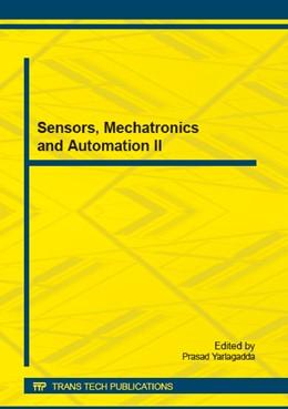 Abbildung von Yarlagadda   Sensors, Mechatronics and Automation II   2015   Collection of selected, peer r...   Volume 742
