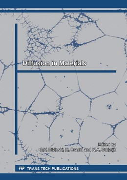 Abbildung von Divinski / Bracht / Stolwijk | Diffusion in Materials | 2015 | Collection of selected, peer r... | Volume 363