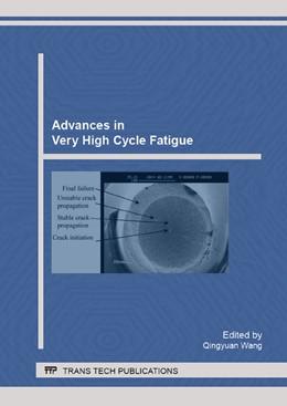 Abbildung von Wang   Advances in Very High Cycle Fatigue   1. Auflage   2016   Volume 664   beck-shop.de