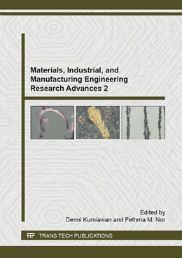 Abbildung von Kurniawan / Nor | Materials, Industrial, and Manufacturing Engineering Research Advances 2 | 1. Auflage | 2015 | Volume 1125 | beck-shop.de