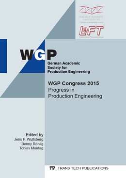 Abbildung von Wulfsberg / R?hlig / Montag   Progress in Production Engineering   2015   Collection of selected, peer r...   Volume 794