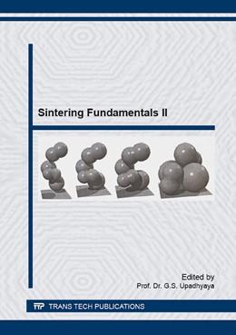 Abbildung von Upadhyaya | Sintering Fundamentals II | 2016 | The book is second in series u...