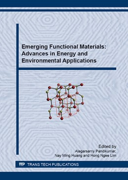 Abbildung von Pandikumar | Emerging Functional Materials: Advances in Energy and Environmental Applications | 2015