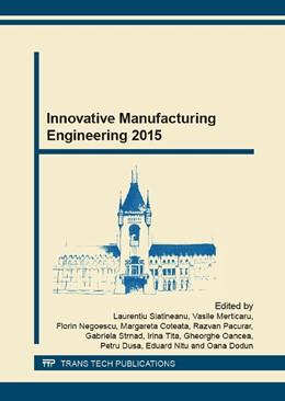 Abbildung von Slatineanu / Merticaru | Innovative Manufacturing Engineering 2015 | 2. Auflage | 2015 | Volumes 809-810 | beck-shop.de