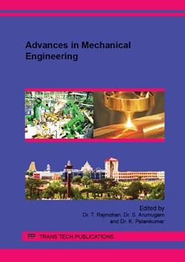 Abbildung von Rajmohan / Arumugam | Advances in Mechanical Engineering | 2. Auflage | 2015 | Volumes 813-814 | beck-shop.de