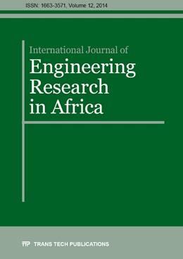 Abbildung von International Journal of Engineering Research in Africa Vol. 12 | 12. Auflage | 2014 | Volume 12 | beck-shop.de