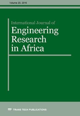 Abbildung von International Journal of Engineering Research in Africa Vol. 20 | 1. Auflage | 2016 | Volume 20 | beck-shop.de