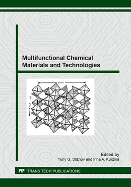 Abbildung von Slizhov / Kurzina | Multifunctional Chemical Materials and Technologies | 2016 | Collection of selected, peer r... | Volume 670