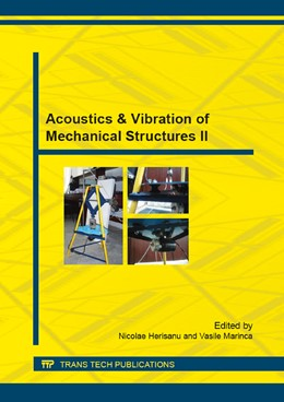 Abbildung von Herisanu / Marinca | Acoustics & Vibration of Mechanical Structures II | 2015 | Collection of selected, peer r... | Volume 801