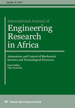 Abbildung von Krenick? | International Journal of Engineering Research in Africa Vol. 18 | 18. Auflage | 2015 | Volume 18 | beck-shop.de