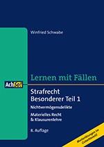 Strafrecht Besonderer Teil 1   Schwabe   8., überarbeitete Auflage, 2016   Buch (Cover)