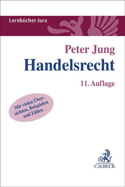Handelsrecht | Jung | 11. Auflage, 2016 | Buch (Cover)