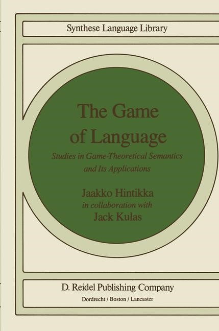 Abbildung von Hintikka | The Game of Language | 1983