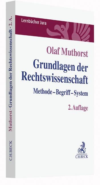 Grundlagen der Rechtswissenschaft | Muthorst | 2. Auflage, 2019 | Buch (Cover)